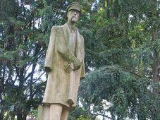 Kopie sochy T. G. Masaryka v Jihlavě, foto: Markéta Kachlíková