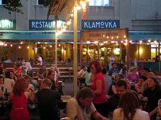 El restaurante de Klamovka, foto: archivo de Matěj Černý