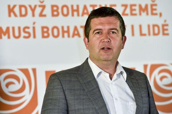 Jan Hamáček, le chef des sociaux-démocrates Photo: ČTK/Šimánek Vít