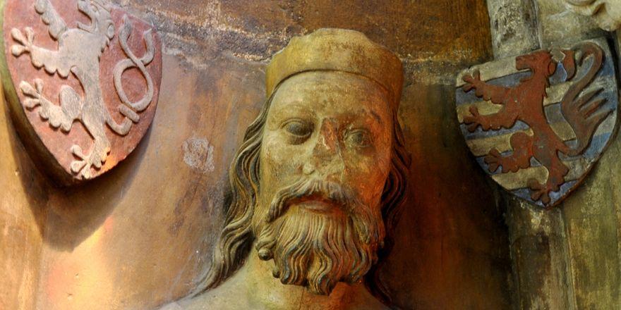Busta Jana Lucemburského v chrámu sv. Víta, foto: Packare, CC0 1.0