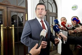 председатель ЧСДП Ян Гамачек, фото: ЧТК
