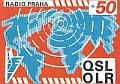 Carte QSL de Radio Prague