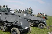 German halftracks