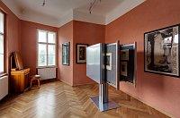 Ausstellung im oberen Geschoss