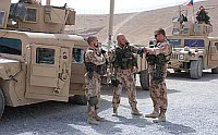 The Czech Provincial and Reconstruction Team in the Afghan province of Logar, photo: www.army.cz