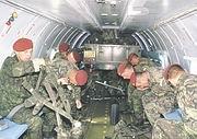 Les unités tchèques en Macédoine, Photo: Jan Prochazka, www.army.cz