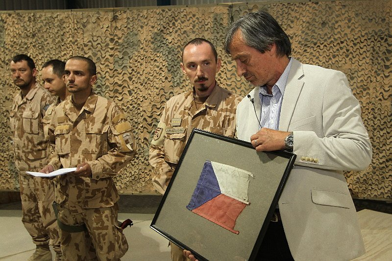 Martin Stropnický in Afghanistan, photo: archive of Czech Army