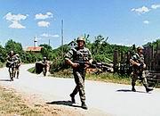 Les unités tchèques au Kosovo, Photo: www.natosummit.cz