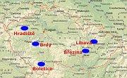 Army training areas, photo: www.army.cz