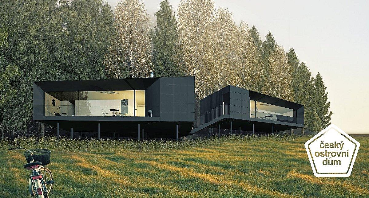 Off-grid house by Vojtěch Lichý, photo: official website of Český Ostrovní dům