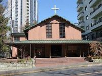Костел св. Албана в Токио, построенный по проекту Антонина Раймонда, Фото: Aw1805, CC BY-SA 3.0