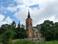St. George's church in Luková, photo: Zdeňka Bušková, CC BY-SA 4.0)