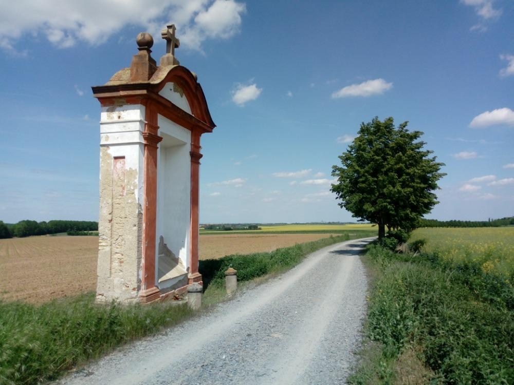Kapelle Nr. XX steht unweit des Klosters Hájek (Foto: Dana Martinová)
