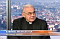 Cardinal Miloslav Vlk in Czech TVs interview, photo: www.ct24.cz