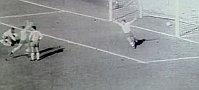 Le but de Masopust en finale du Coupe du monde 1962, photo: ČT
