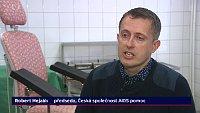 Robert Hejzák, photo: Czech Television