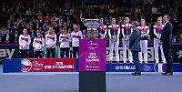 Tschechien gewinnt zum fünften Male in den letzten sechs Jahren den Fed Cup (Foto: Tschechisches Fernsehen)