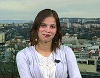 Klaudia Dudová (Foto: ČT24)