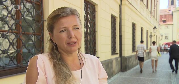 Radka Hančilová, photo: ČT24