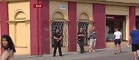 Policejni specialisté v Karviné, foto: ČT24