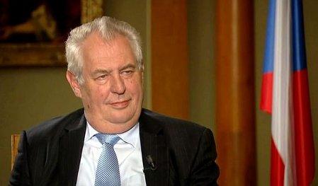 Miloš Zeman, photo: ČT24