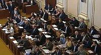Abgeordnetenhaus (Foto: ČT24)