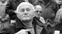 Bohumil Hrabal, photo: Czech Television