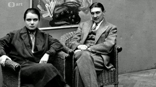 Тоайен и Йиндржих Штырский (Фото: Чешское Телевидение)