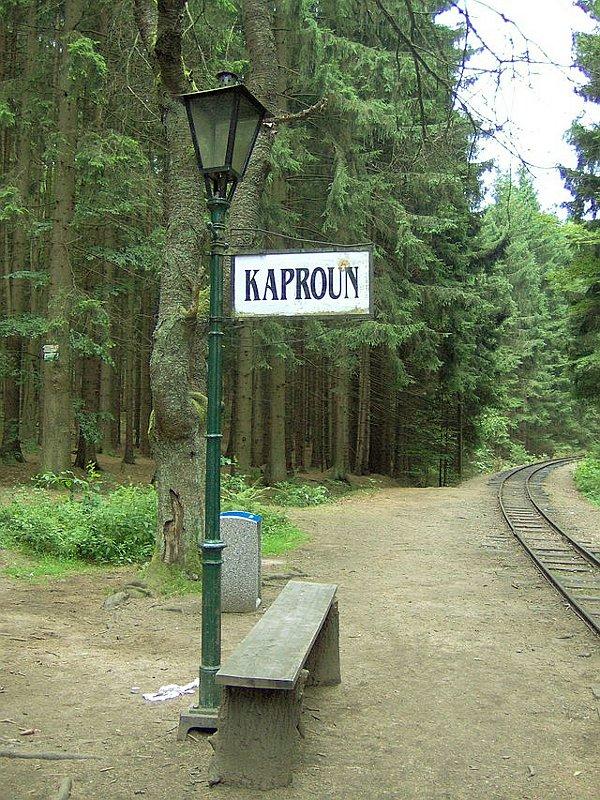 Radio Praha Zast 225 Vka Kaproun M 237 Sto Kde Byl Z Vlaku