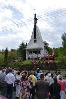 Pilgermesse in der Kapelle in Nedašova Lhota (Foto: Aleš Naňák)