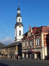 Kostel v Novém Boru (Foto: www.novy-bor.cz)