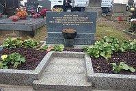 Новая надпись на братской могиле в г. Прахатице, Фото: официальный сайт города Прахатице