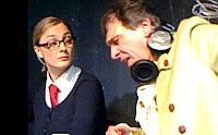 Barbora Poláková as Kristýna Kočí, Ondřej Pavelka as Lukáš Vích in 'Blond Bitch', photo: YouTube