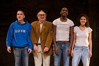 Raphal Leguillon, Renato Giuliani, Tony Mpoudja, Ysmahane Yaqini, photo: Nov scna