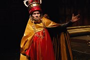 Richard Krajco dans le rle de Richard III, photo: Thtre national