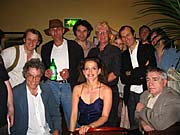 A portion of the cast of Rock 'n' Roll London, 13 June 2006, photo: Patricia Grant