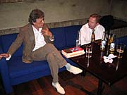 Tom Stoppard and Vaclav Havel, photo: Paul Wilson