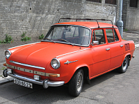 Škoda 1000 MB, photo: Ludek, CC BY-SA 3.0