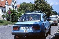 Früher wurden Autokennzeichen in Tschechien nach Bezirken ausgestellt (Foto: Felix O, CC BY-SA 2.0)