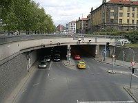 Těšnovský tunel alias Husákovo ticho, foto: Petr Brož / Creative Commons 3.0 Unported