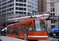 Inekon tram in Seattle, photo: archive of Inekon Group