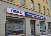 BIDV's Prague office, photo: Trieu Thi Huyen