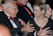 Vaclav Klaus and Renee Zellweger