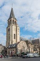 Abbaye de Saint-Germain-des-Prés, photo : DXR, Wikimedia CC BY-SA 3.0