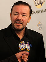 Ricky Gervais, photo: Thomas Atilla Lewis, CC 2.0 license