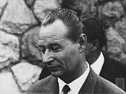 Alexander Dubček, photo: Institute of Contemporary History