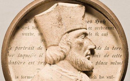 Jan Hus (Foto: Archiv des Badischen Landesmuseums)
