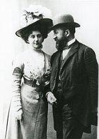 František Veselý mit Ehefrau Marie Calma (Foto: Archiv des Museums Südostmährens in Zlín)