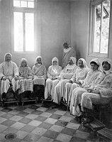 Patienten bei gemeinsamer Inhalation (Foto: Archiv des Museums Südostmährens in Zlín)