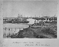 Melbourne 1857 (Foto: Archiv Museum Victoria Natural Science)